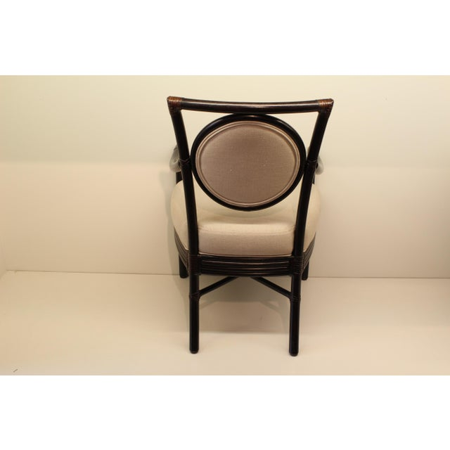 McGuire Orlando Diaz-Azcuy Salon Arm Chair - Image 5 of 6