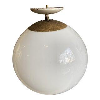 1970s Eames Mid Century Globe Light For Sale