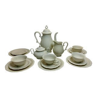 Vintage Rosenthal Chippendale Coffee Set- 14 Pieces For Sale