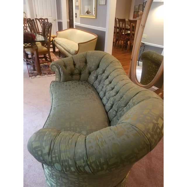 Baker Furniture Victorian Style Loveseats - Pair - Image 4 of 7
