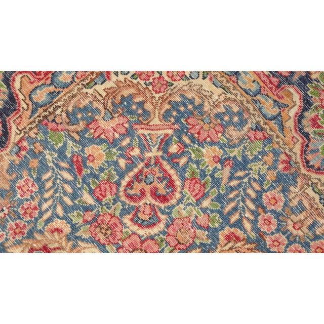 """Persian Multicolor Lavar Kerman Rug - 4'9"""" x 7'2"""" - Image 4 of 4"""
