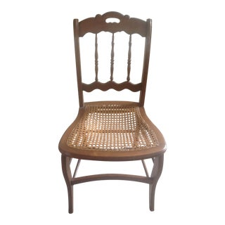 Early 1900's Cane Side Chair