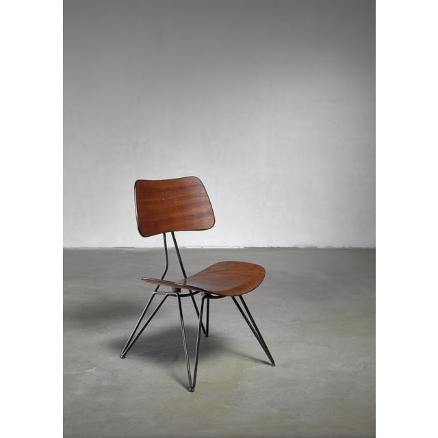 1950s Gio Ponti Du10 Chair for Rima, Italy, 1950s For Sale - Image 5 of 5