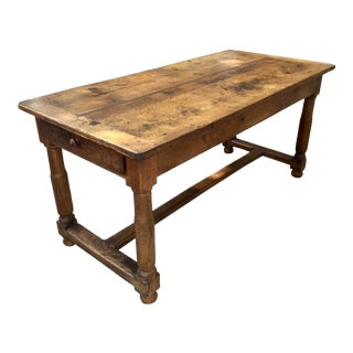 18th C. French Farm House Table or Desk For Sale