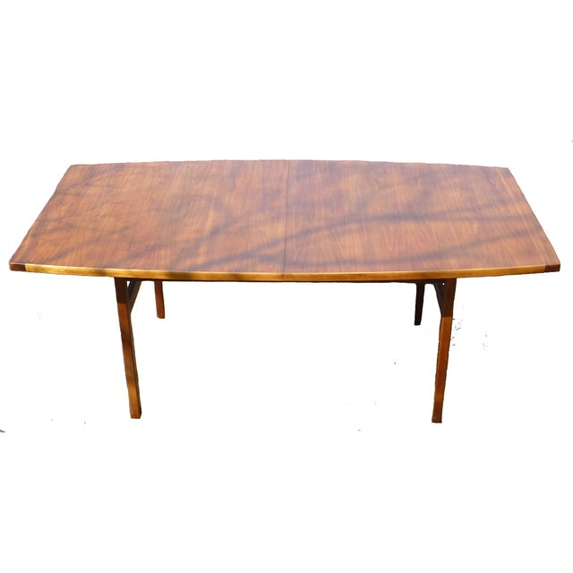 Jens Risom Dining Table With Two Leaves - Image 2 of 7