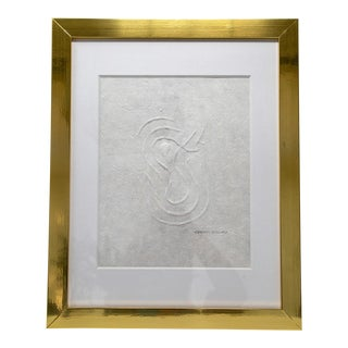 Vibration Hand Embossed Drawing For Sale
