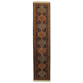 Vintage Persian Ardebil Runner - 2′6″ × 9′11″ For Sale