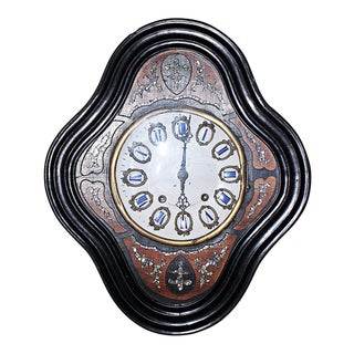 French Antique Baker's Clock For Sale