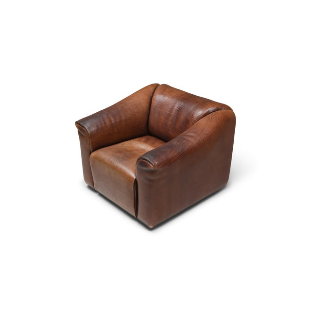 1970s De Sede Ds 47 Brown Leather Armchair For Sale - Image 10 of 10