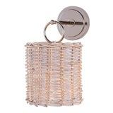 Image of Nantucket Sconce in Polished Nickel For Sale
