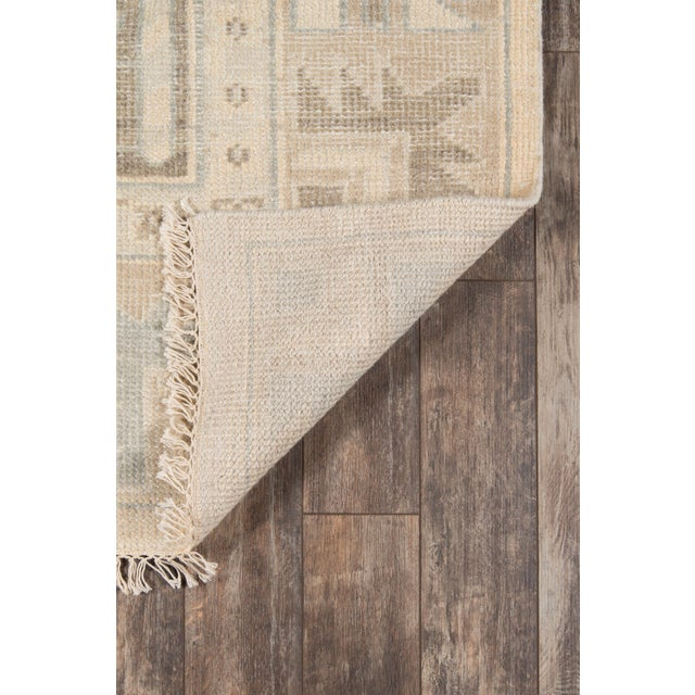 2010s Erin Gates Concord Walden Beige Hand Knotted Wool Area Rug 2' X 3' For Sale - Image 5 of 6