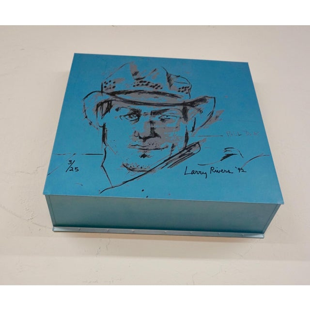 Larry Rivers Steel Painted Pieces in Original Plywood Box- Set of 4 For Sale - Image 4 of 10