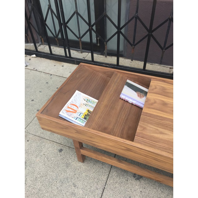 """Custom Handcrafted """"Rosa"""" Coffee Table For Sale - Image 10 of 13"""