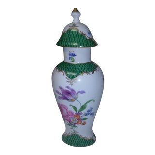 Hand Painted Elois Urn For Sale
