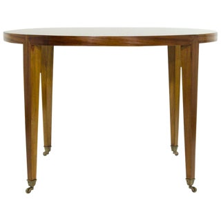 Art Deco Style Mahogany Games Table For Sale