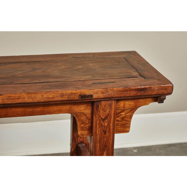 Mid 19th Century 19th C. Chinese Ming Style Altar Table For Sale - Image 5 of 10