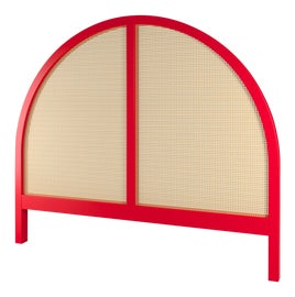 Image of Newly Made Red Headboards