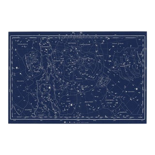 Reproduction Celestial Nautical Map For Sale