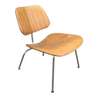 Eames Model Lcm Lounge Chair in Ash For Sale