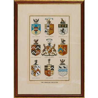 """Burke's Heraldic Register"" For Sale"