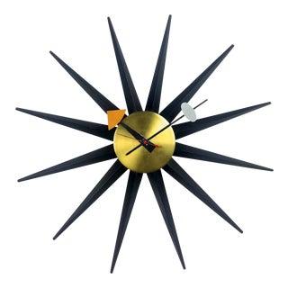 Vintage George Nelson Spike Clock 1956