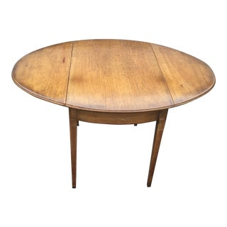 Kittinger Antique Drop Leaf Side Table / Dining Table