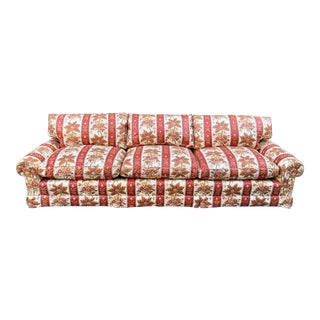 Brunschwig & Fils Fully Upholstered Long Sofa - Nancy Sinatra For Sale