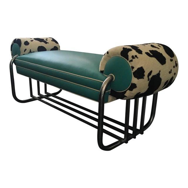KEM Weber Leather Bench - Image 1 of 1