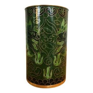 Asian Decorative Dragon Motif Cup For Sale