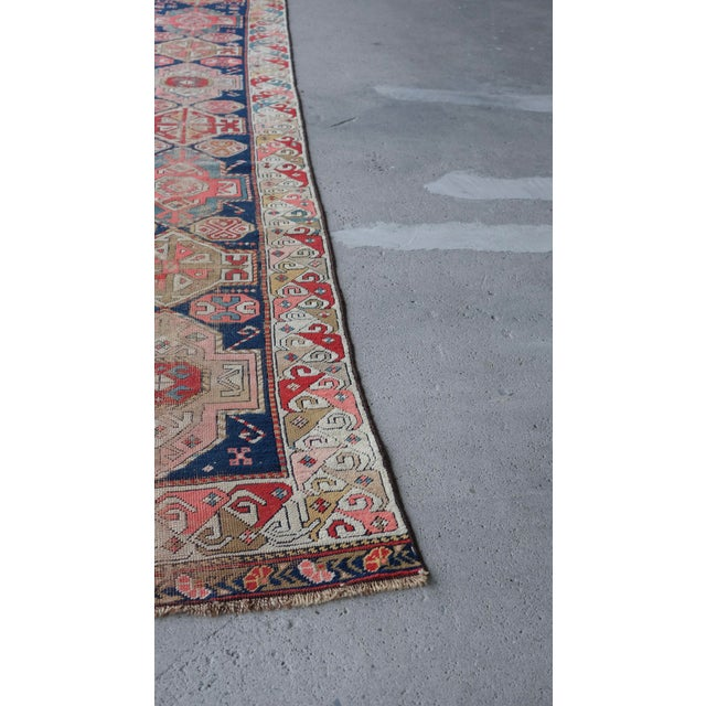 Antique Distressed Caucasian Skinny Runner For Sale - Image 9 of 11