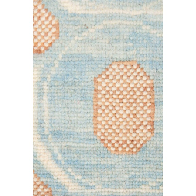 "Modern Eclectic, Hand Knotted Area Rug - 5' 2"" x 7' 1"" For Sale - Image 3 of 3"