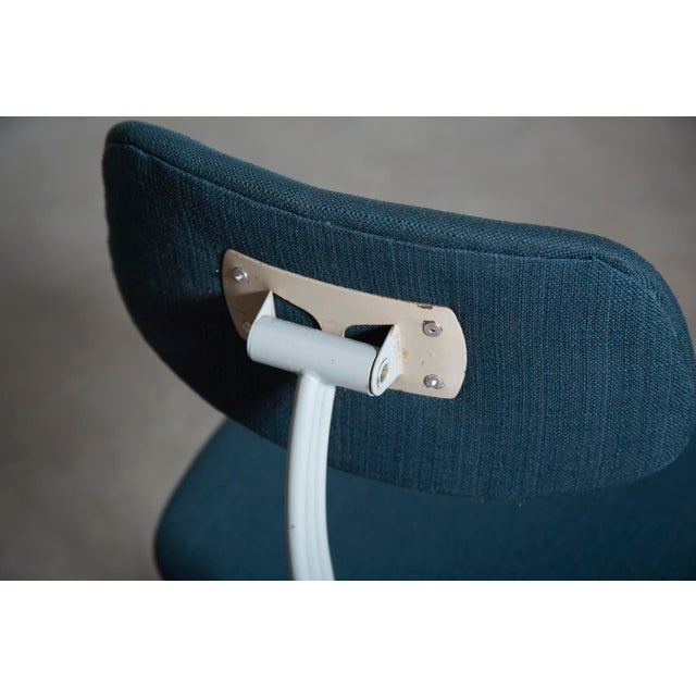Friso Kramer Newly Upholstered Drafting Chair - Image 8 of 11