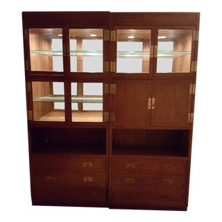 Henredon Scene One Wall Units For Sale
