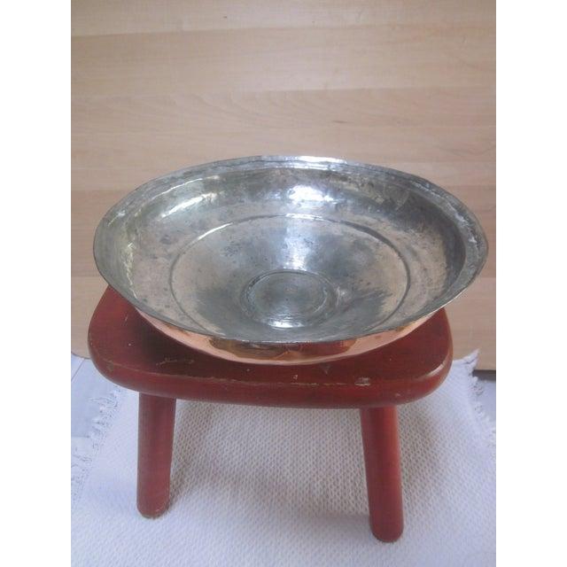 Copper Pot Set Hammered Copper & Brass Pots & Pans - Set of 4 - Image 10 of 10
