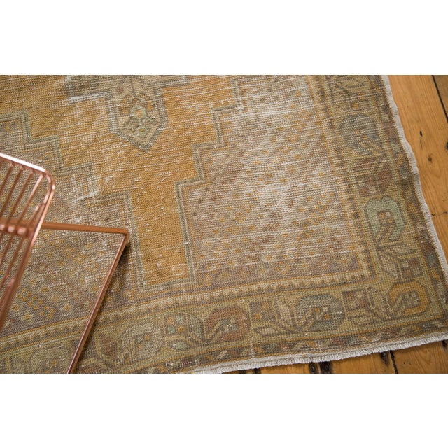 "Islamic Vintage Distressed Oushak Rug Runner - 3'10"" x 8'8"" For Sale - Image 3 of 11"