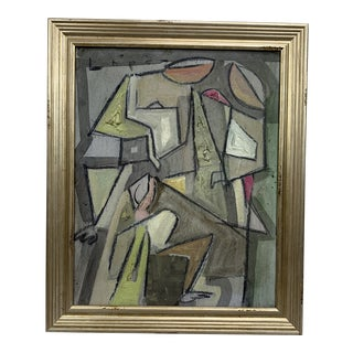 Lucia Lopez Cubist Family For Sale