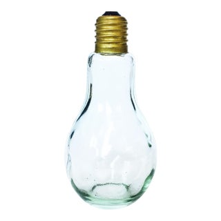 Vintage Light Bulb Decanter