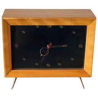 1950s Vintage Tv Clock For Sale