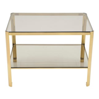 French Bronze Occasional Side Table by Jacques Quinet for Broncz 1960s For Sale
