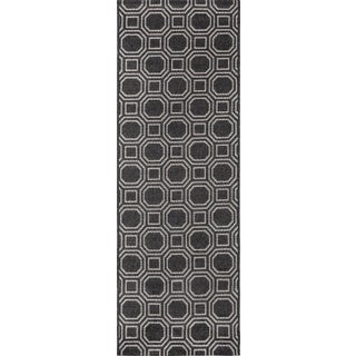 "Erin Gates Downeast Camden Charcoal Machine Made Polypropylene Area Rug 5' X 7'6"" Preview"