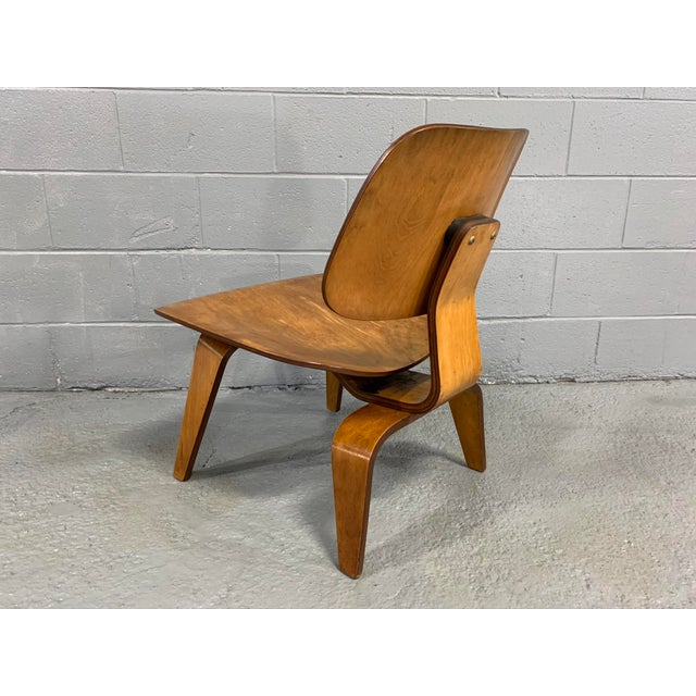 Mid-Century Charles Eames Lcw Herman Miller Lounge Chair For Sale In Boston - Image 6 of 11