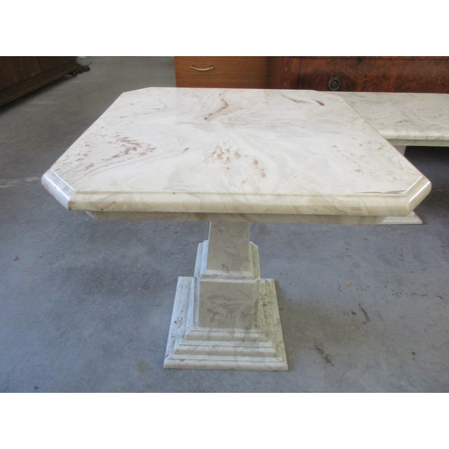 Marble End Tables and Coffee Table - Set of 3 - Image 10 of 11