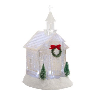 Kenneth Ludwig Chicago Clear Church Snow Globe For Sale