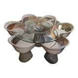 Image of 1960s Mid-Century Modern Warren Platner Knoll 1st Edition Dining Set - 7 Pieces For Sale