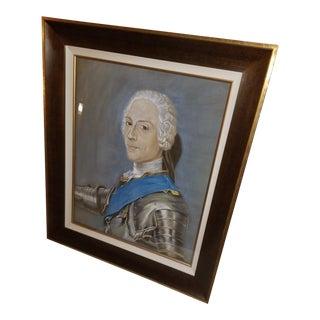 Framed Portrait of Prince Henry Benedict Stuart Painting For Sale
