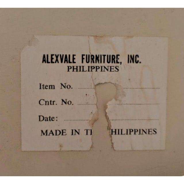 Alexvale Furniture - Tessellate Stone Cocktail Table. W/ Brass Trim, Vintage For Sale - Image 9 of 10