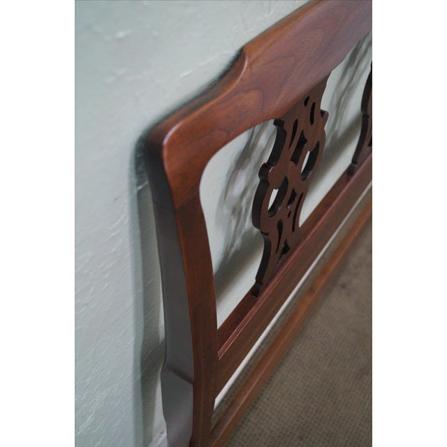 Ethan Allen Georgian Court Chippendale Headboard - Image 6 of 10