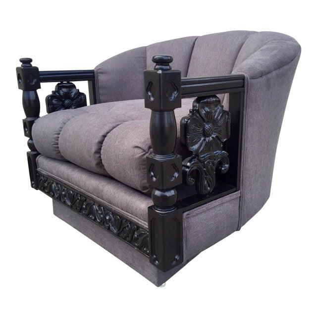 Restored Mediterranean Lounge Chair Chairish