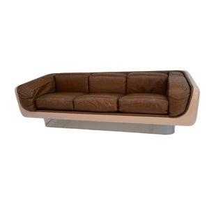 "Vintage Mid Century Warren Platner for Steelcase ""Space Pod"" Sofa For Sale"