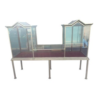 Schmitt & Co. Glass Display Cabinet
